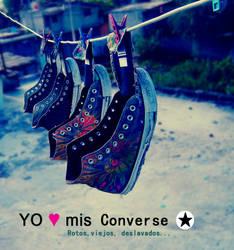 I  L O V E  Converse by OoINUYUMIoO