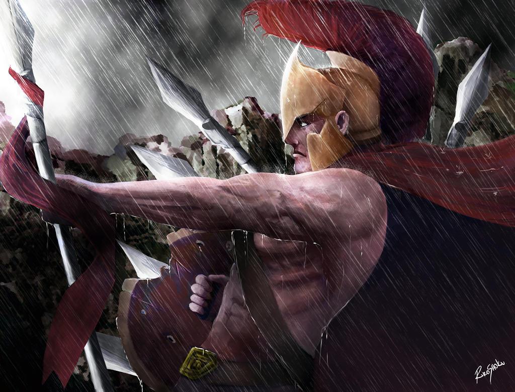 Spartan: Leonidas by Shokuin
