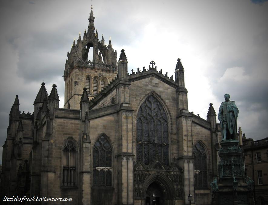 Gothic Style Church By LittleBoFreak