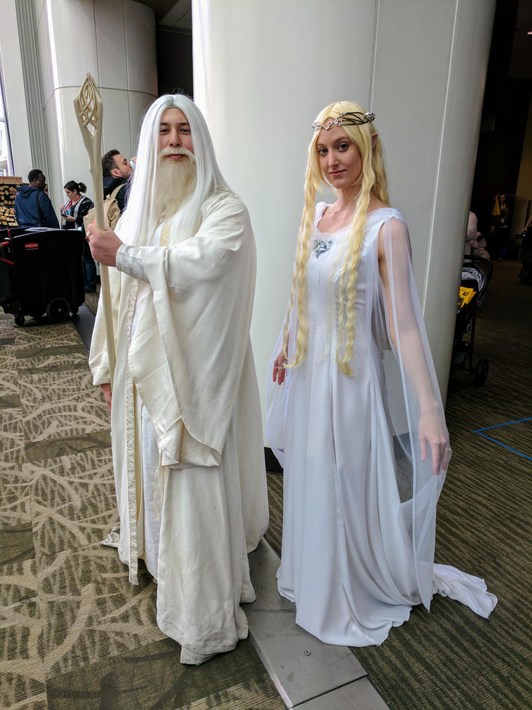 Galadriel and Gandalf the White by swedishballerina ...  sc 1 st  DeviantArt & Galadriel and Gandalf the White by swedishballerina on DeviantArt