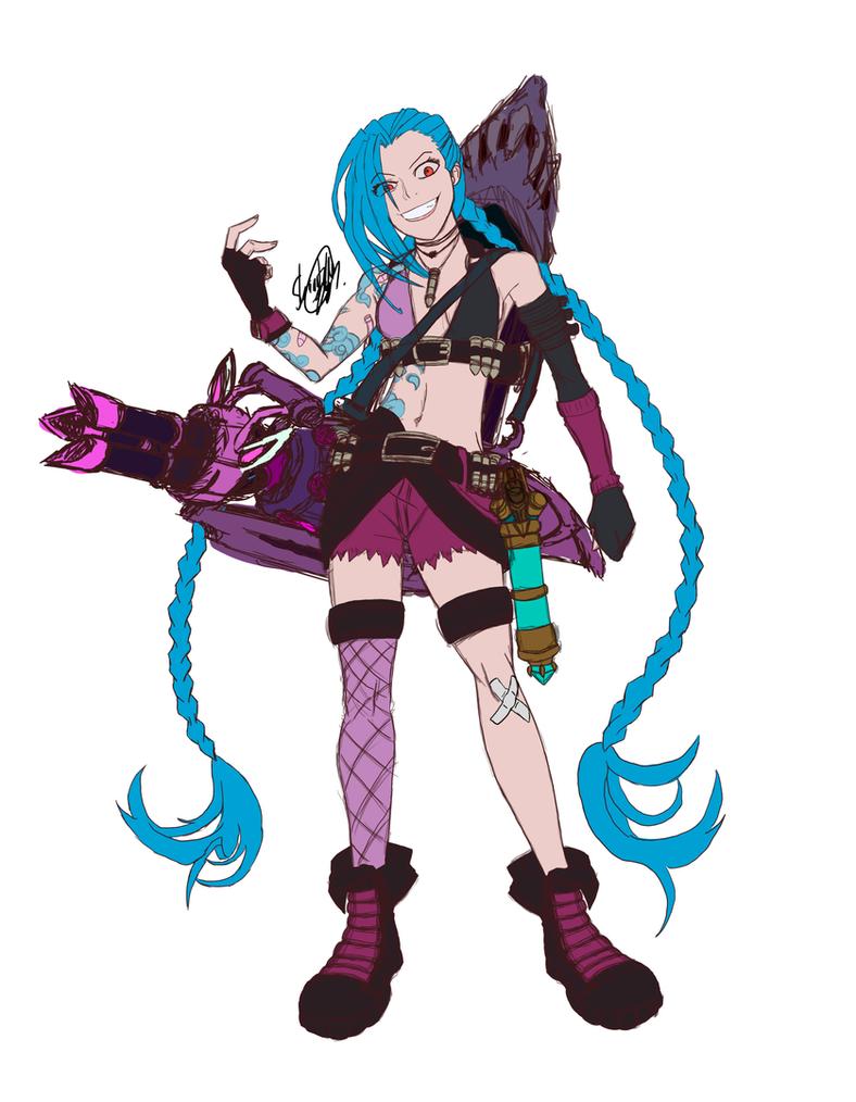 Jinx fanart by FullHimitsu