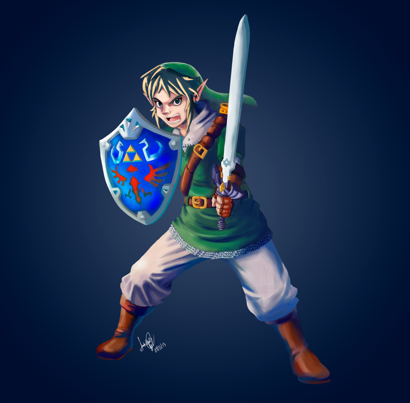 Link  Fan art by FullHimitsu
