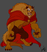The Beast from Disney (Prince Adam)