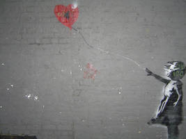 Banksy London by Withourdecay
