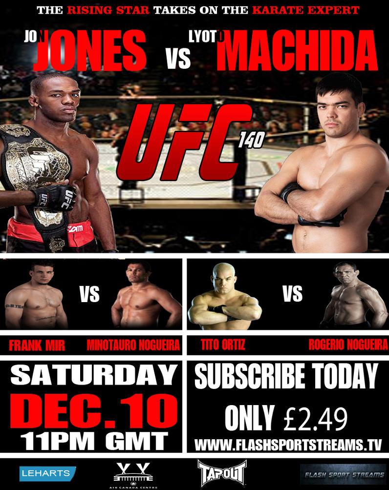 UFC 140 Poster -...Ufc 140