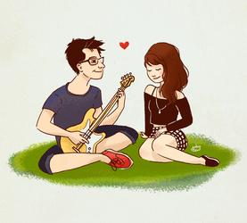 Rodrigo and Carol by jubalew