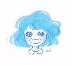 BLUE I by jubalew