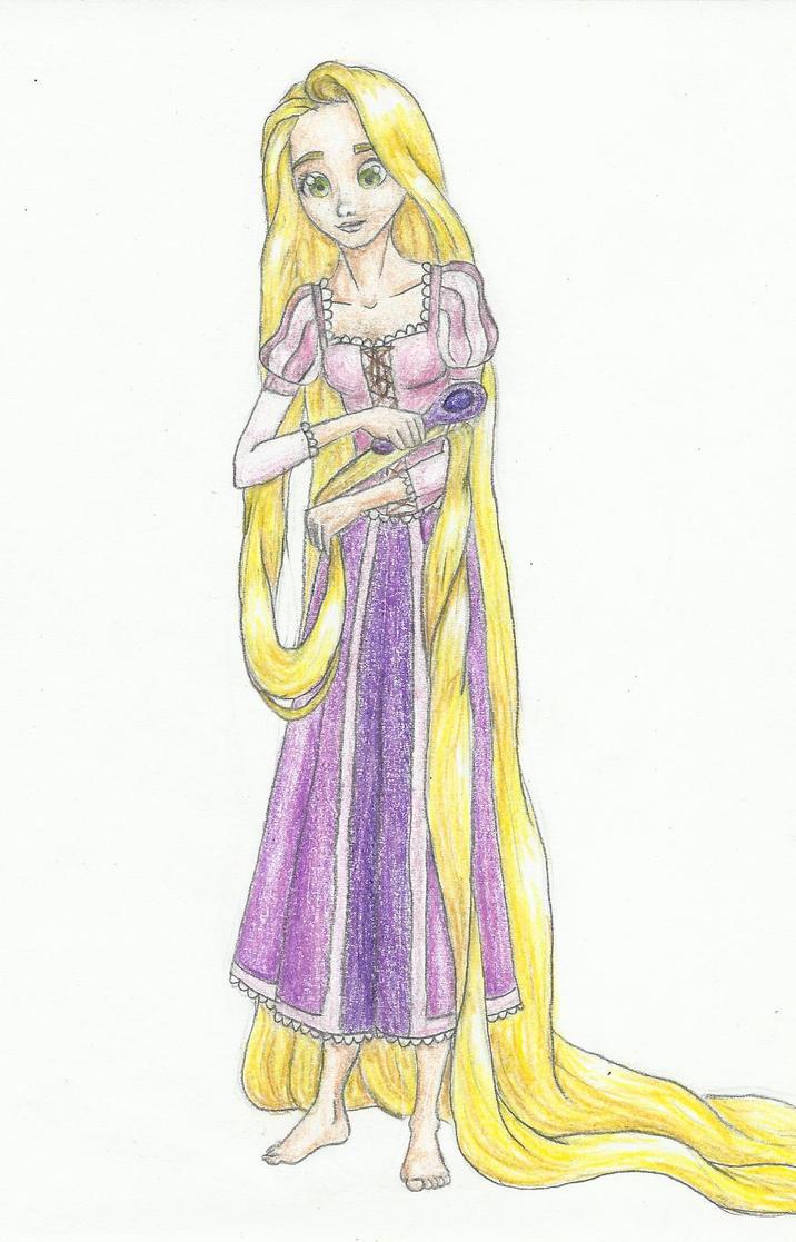 Rapunzel-brush by Xijalle