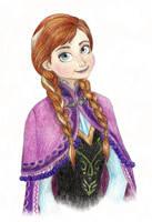 Anna portrait by Xijalle