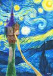 Tangled-Starry Night
