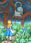 Every adventure requires a first step~Cheshire Cat