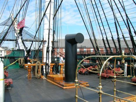 USS Constitution Main Deck