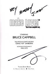 Bruce Campbell Autograph by ariaeko