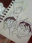 Danny Phantom Sketches~
