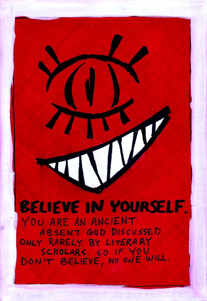 Welcome to Night Vale! Believe in Yourself by elderwyrm