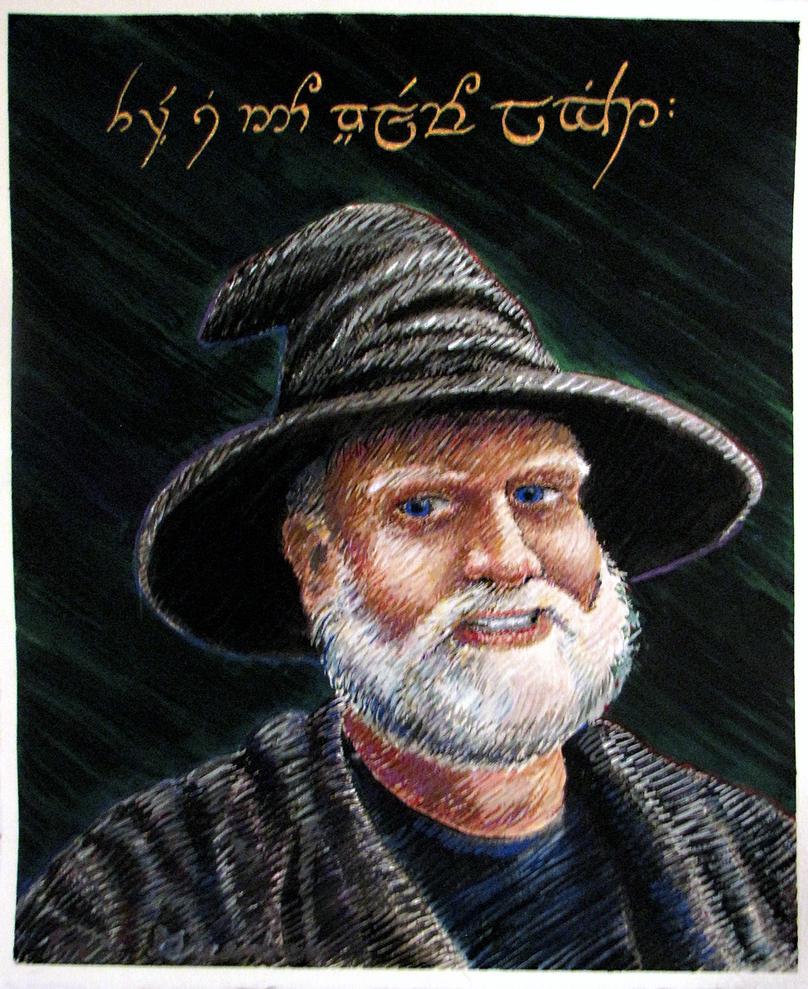 The Great Wizard Carter by elderwyrm