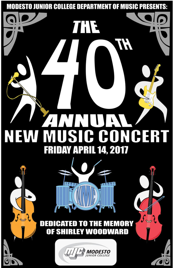 40th Annual New Music Concert 2017 Program Cover C by elderwyrm