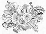Henna Drawing 2
