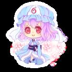 Chibi Yuyuko by HotaruAyanami