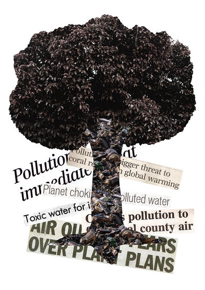 Pollution Tree by kay-ler