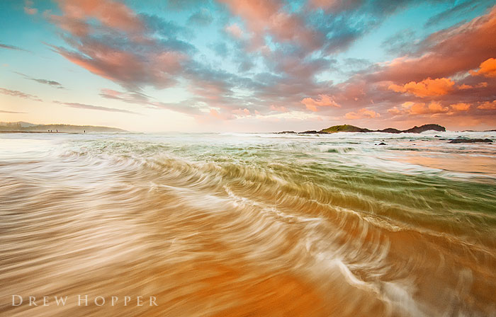 Receding East by DrewHopper