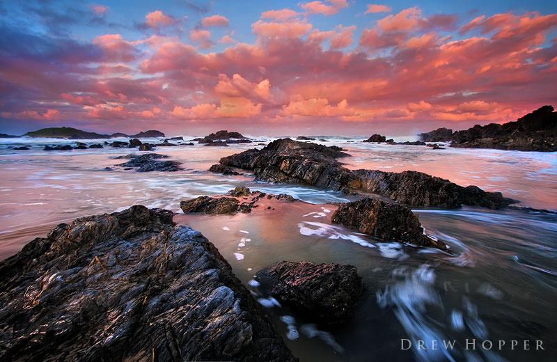 Fiery Autumn Twilight by DrewHopper