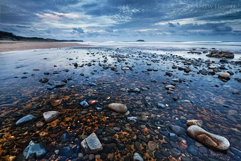 Emerald Beach Creek by DrewHopper