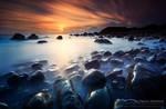 Pebbly Beach Sunrise