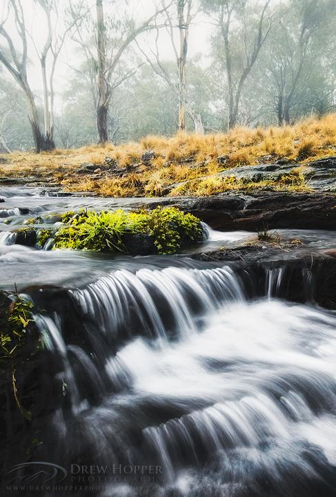 Misty Stream by DrewHopper