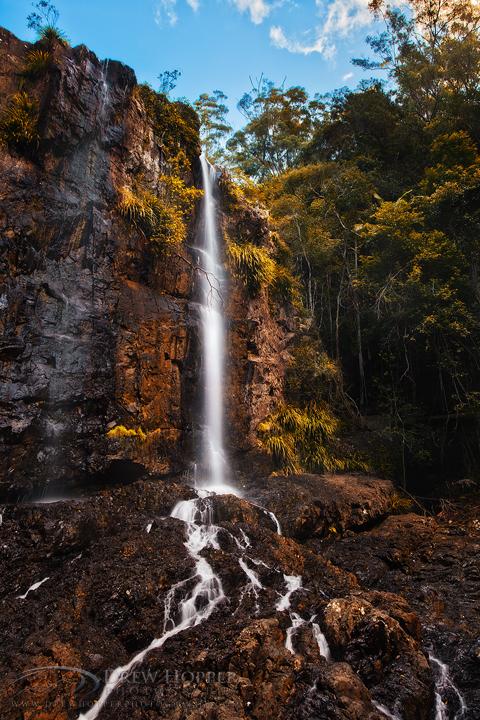 Woolgoolga Falls by DrewHopper