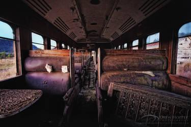 Ghost Train by DrewHopper
