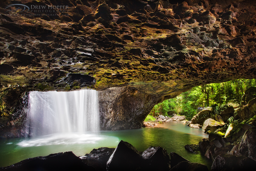 Natural Arch Springbrook by DrewHopper