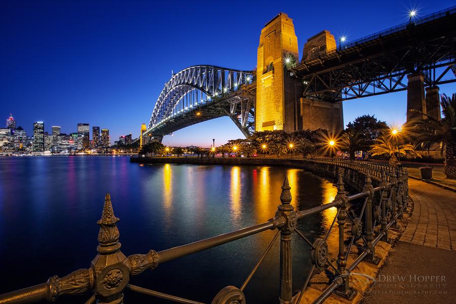 Sydney Harbour Bridge by DrewHopper