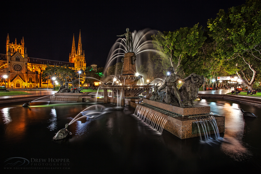 Archibald Fountain by DrewHopper