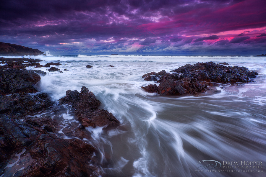 Magenta Dusk by DrewHopper