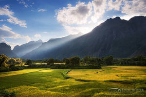 Vang Vieng Countryside by DrewHopper