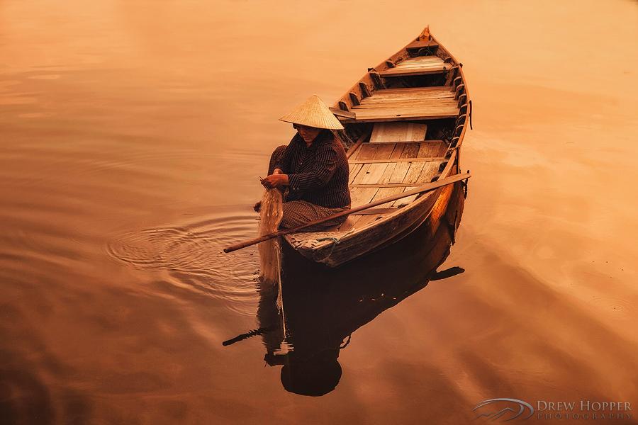 Fishing Thu Bon by DrewHopper