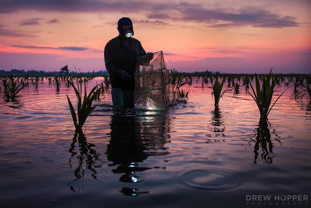 Dawn Fisherman by DrewHopper