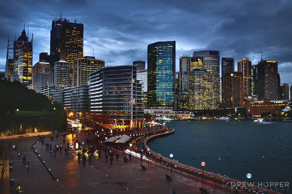 Sydney Skyline by DrewHopper