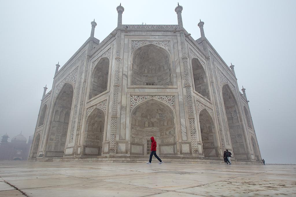 Winter Taj by DrewHopper
