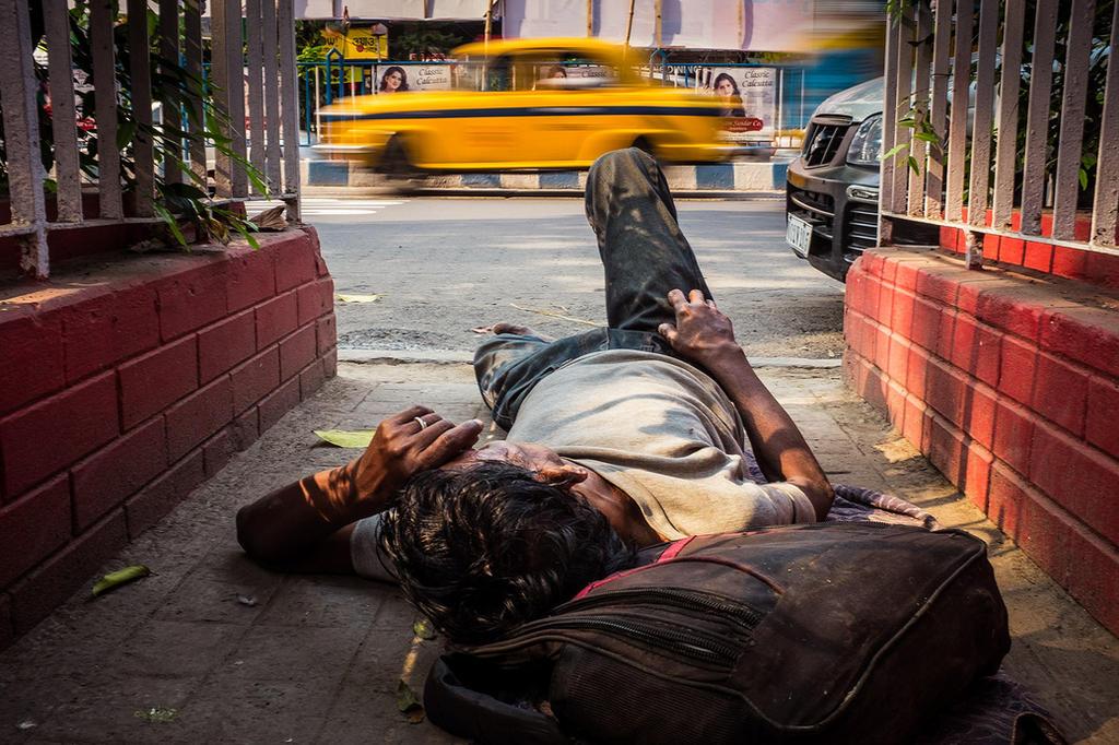 Street Sleeper by DrewHopper