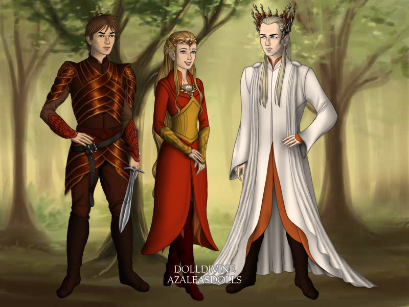 Kendral, Eleyna and Evander by SwimPrincess93
