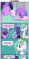 Alicorn by FrenkieArt