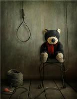 Horror of a bear by AnnMei
