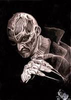 Freddy Kruger by JakubNadrowski