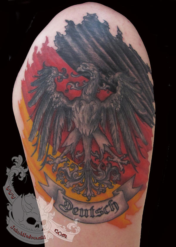 German imperial eagle tattoo - photo#3