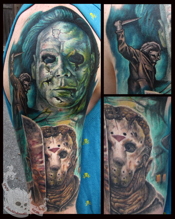 Horror Sleeve 1 by JakubNadrowski