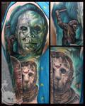 Horror Sleeve 1 by JakubNadrowski
