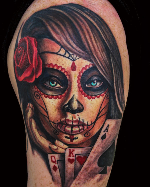 Dayofthedead Girl by JakubNadrowski