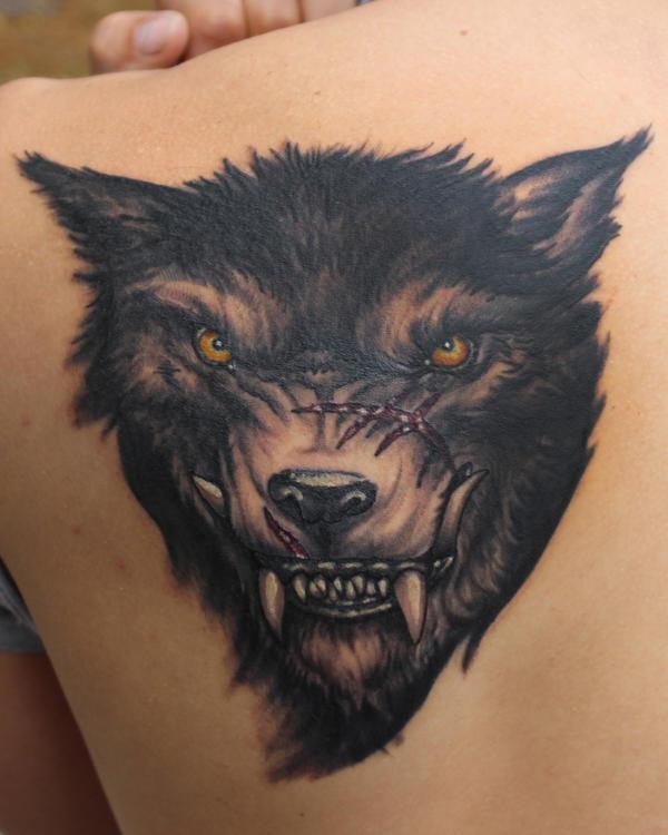 Evil Wolf by JakubNadrowski